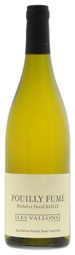 Afbeelding van Bailly Pouilly Fumé Les Vallons
