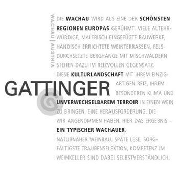 Afbeelding voor fabrikant Gattinger Grüner Veltliner Smaragd