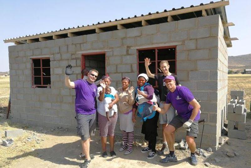 Bjorn en Remo in Zuid-Afrika